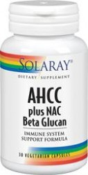 AHCC plus NAC & Beta Glucan 30 capsule vegetale Secom