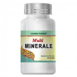 MULTIMINERALE 30 tablete Cosmo Pharm