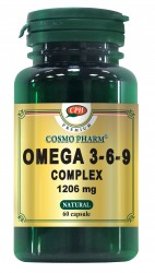 PREMIUM OMEGA 3-6-9 COMPLEX 1206 mg 60cps Cosmo Pharm