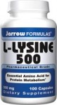 L-Lysine 500mg 100 capsule Secom
