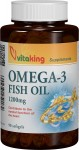 Omega 3 Forte-Ulei de peste natural 1200mg-90cps Vitaking