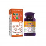 PACHET SIROP NAS si GAT Advanced Kids + Dino Vitamin Cosmo Pharm