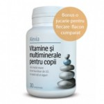 VITAMINE SI MULTIMINERALE PT.COPII 30CPR Alevia