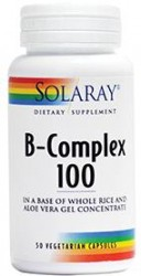 B-Complex 100mg 50 capsule vegetale Secom