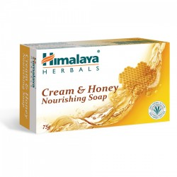 Sapun hranitor cu smantana si miere (Nourishing Cream and Honey Soap - 75 g)Himalaya