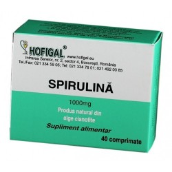 Spirulina 1000mg 40cpr Hofigal
