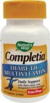 Completia Diabetic Multivitamin (fara fier) 30 tablete Secom