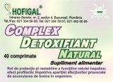 Complex detoxifiant natural 40cpr Hofigal