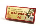 Ginkgo Biloba cu Ginseng & Royal Jelly (10 Fiole) Sanye Intercom