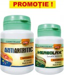 PROMO ANTIARTRITIC NATURAL 30cps + Herbolax 10cps  Cosmo Pharm