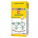 SIROP ADVANCED KIDS VITAMINA C NATURALA 125ML COSMO PHARM